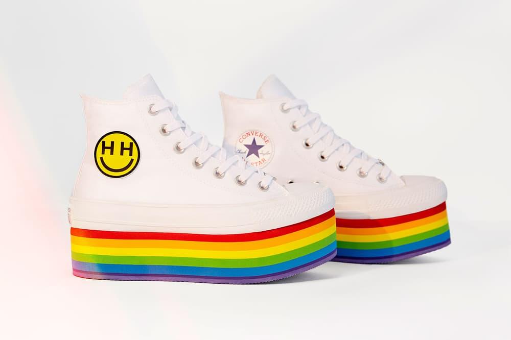 Converse Pride Chuck Taylor All Star Platform Miley Cyrus