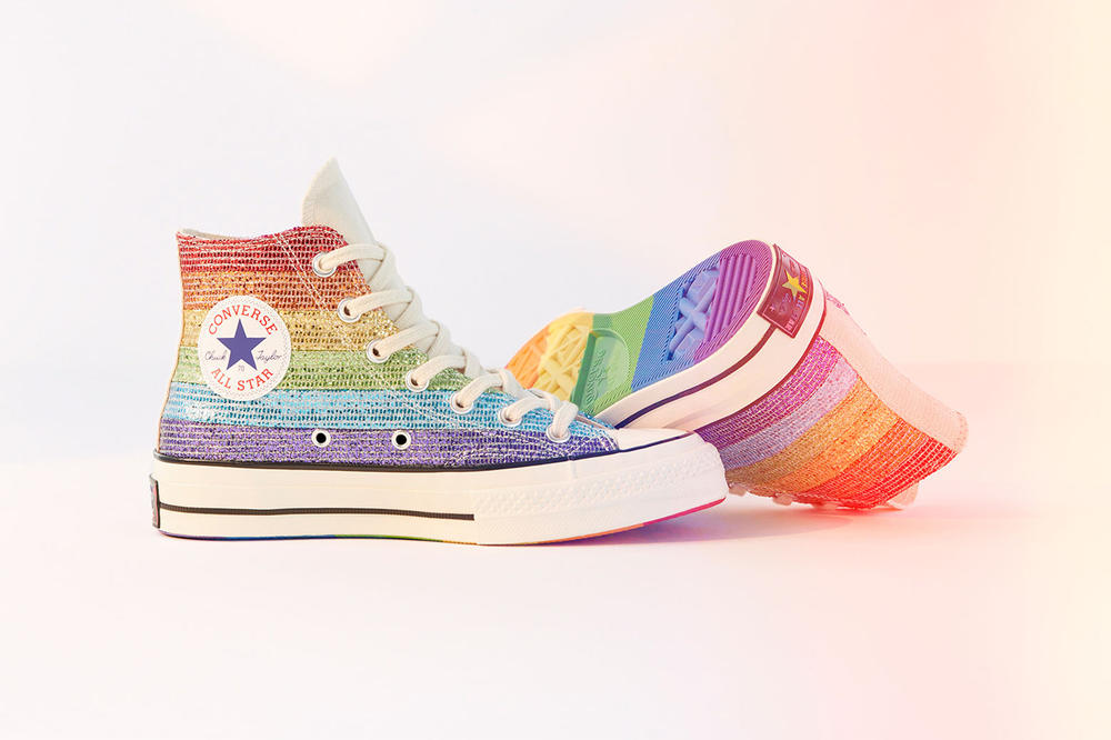 Converse Pride Chuck Taylor All Star High Miley Cyrus
