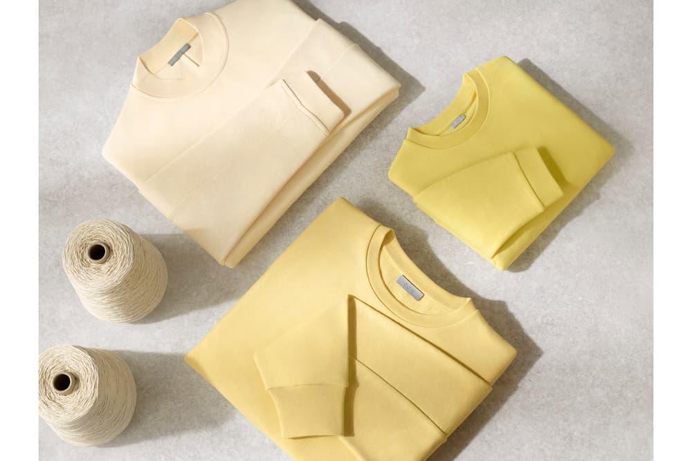 COS Repurposed Cotton Project Sweatshirts Yellow