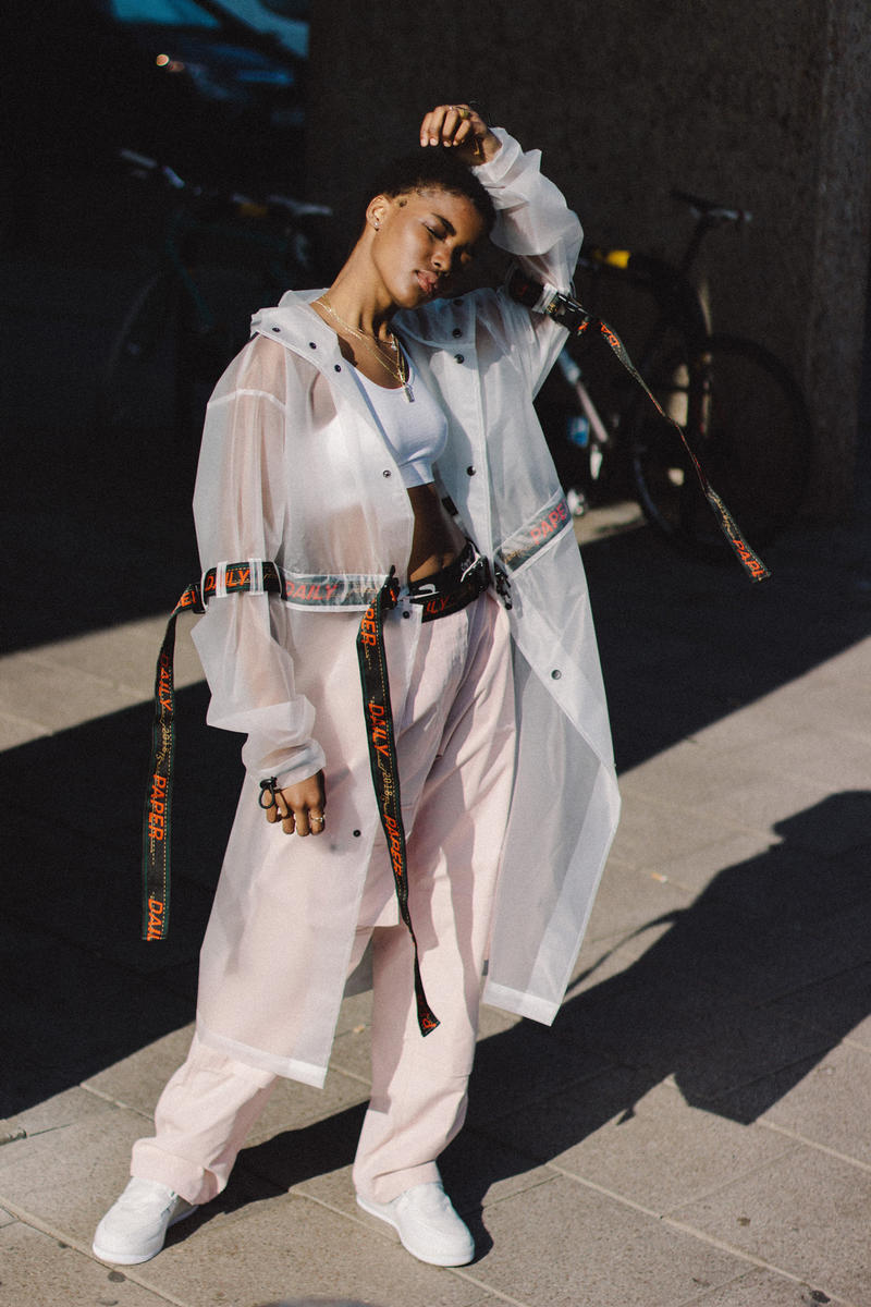 Daily Paper Spring/Summer 2018 Transcends Borders Collection Editorial Transparent Chaba Jacket