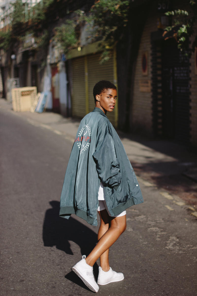 Daily Paper Spring/Summer 2018 Transcends Borders Collection Editorial Comb Jacket Dark Green