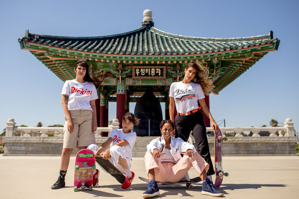 a2c67c94726e Depop x Dickies Girls Release Capsule Collection