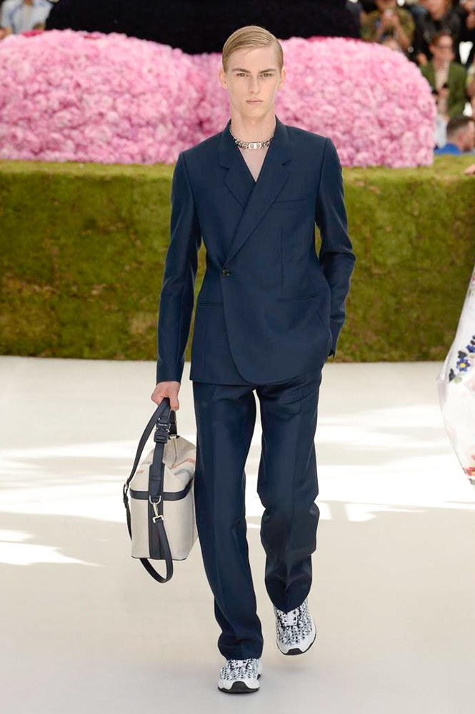 Dior Homme Spring Summer 2019 Runway Show Paris Fashion Week Men's Kim Jones Yoon Ahn Kaws