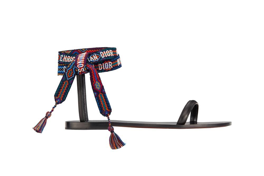 Dior Mykonos Pop-Up Capsule Collection Maria Grazia Chiuri Tote Bag Scarves Print Vintage Sandals Summer