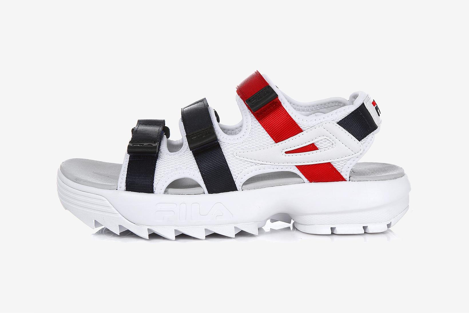 fila sandals 2018