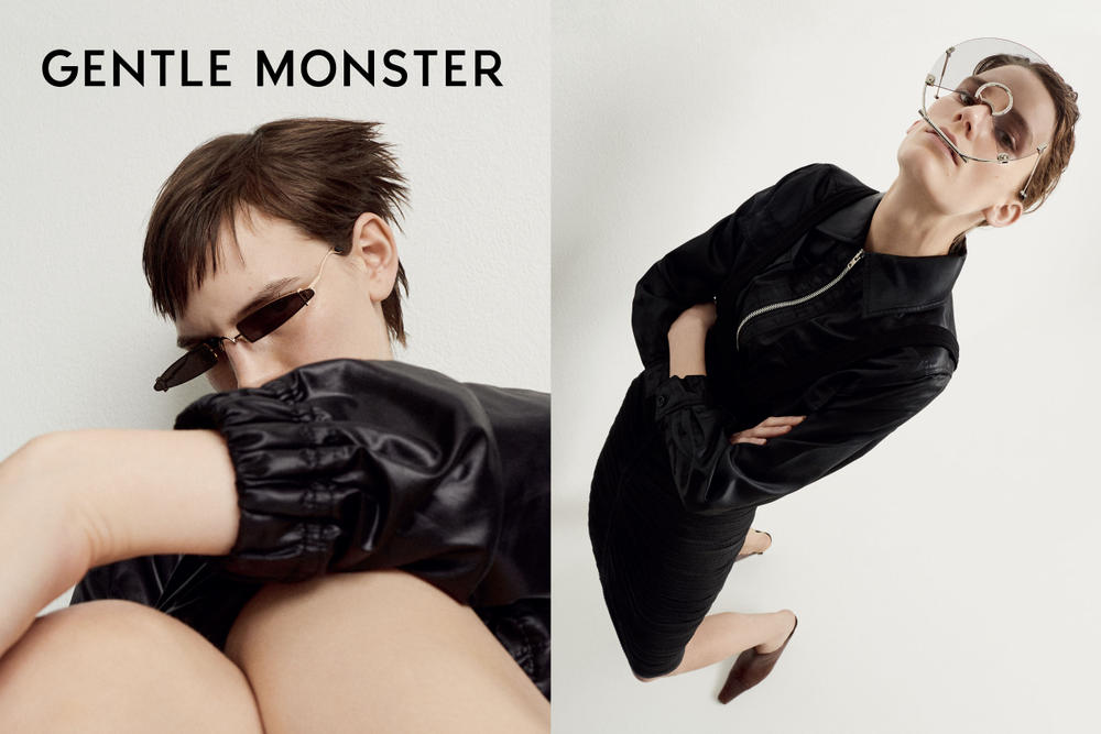 "Gentle Monster ""Once Upon a Future"" Collection Lookbook Sunglasses Statement Accessories Korean Brand Seoul"