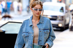 Picture of Gigi Hadid Steps out in an Affordable Balenciaga Triple-S Dupe