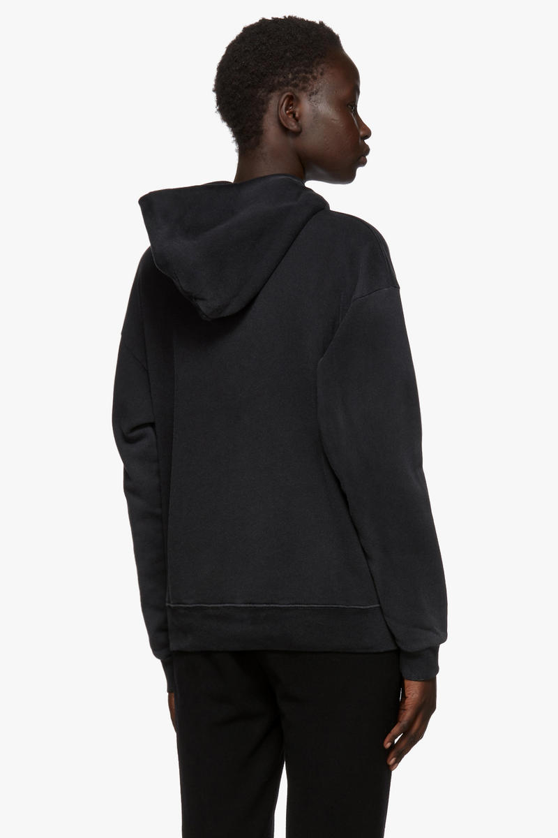 Givenchy's Black Distressed Logo Hoodie