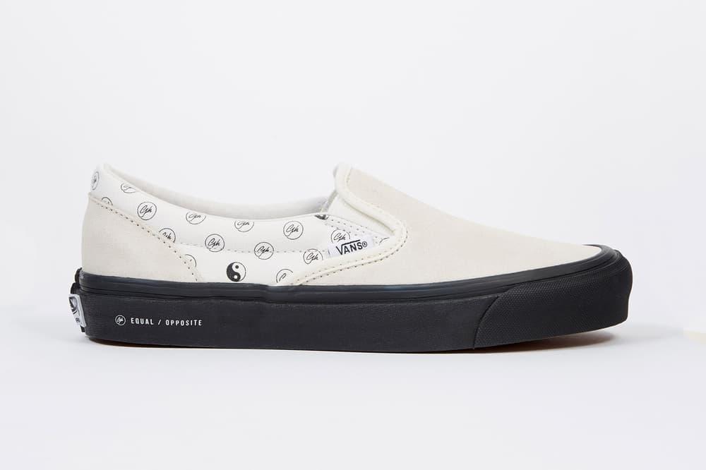 Goodhood x Vans Vault Yin & Yang Slip-On Sneakers Equal / Opposite 2018