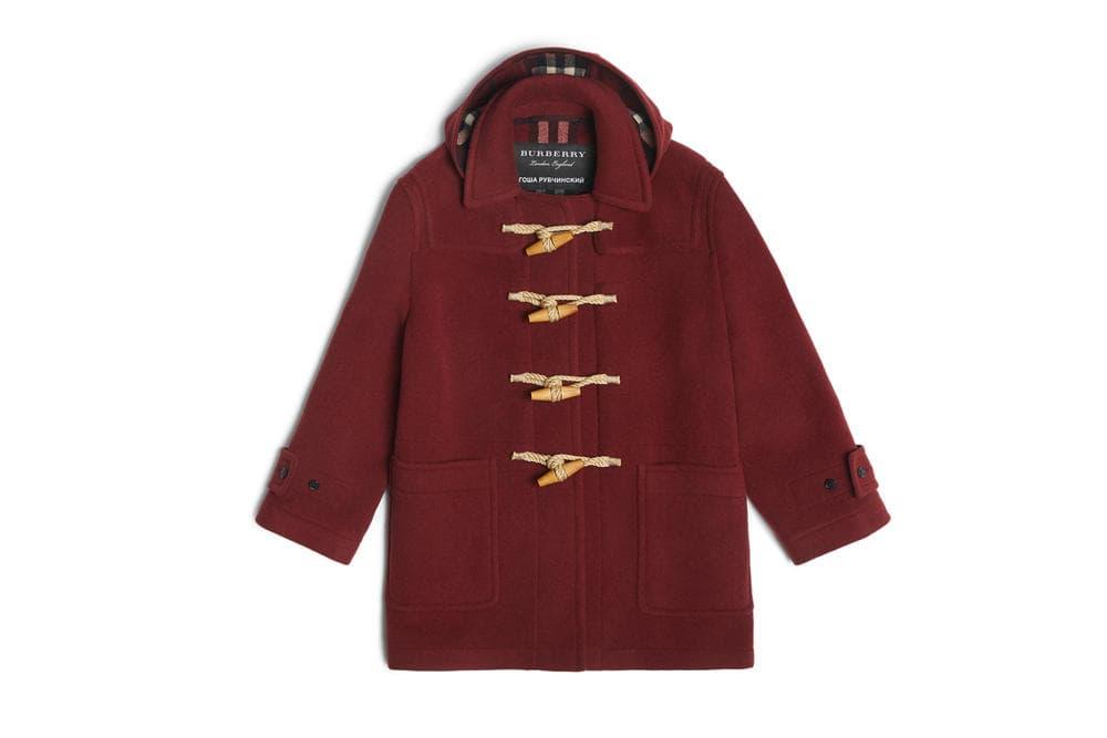 Gosha Rubchinskiy Burberry Fall Winter 2018 Collection Coats Shirts Hat Scarf Shoes