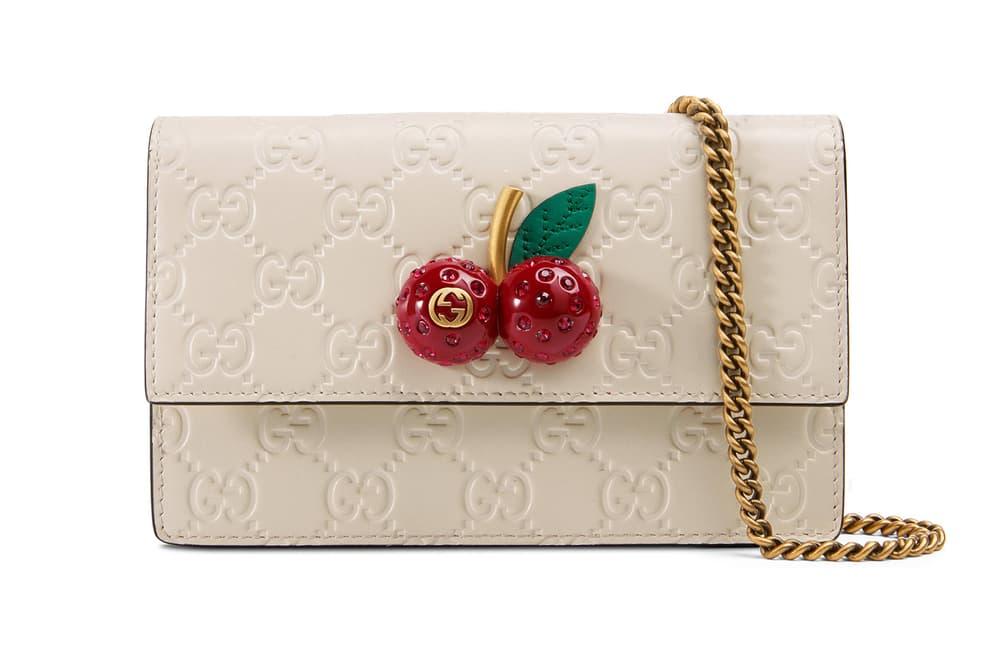 5aa707917 Gucci Cherry Shoulder Bag, Card Holder & Wallet | HYPEBAE