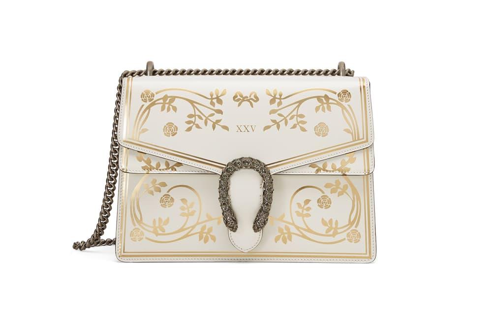 Gucci Garden Capsule Collection Dionysus Shoulder Bag Cream