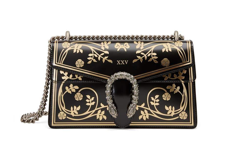 Gucci Garden Capsule Collection Dionysus Shoulder Bag Black