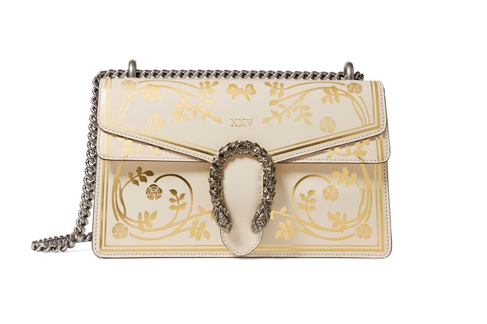 43a0747c5c0 Gucci Garden Capsule Collection Dionysus Shoulder Bag Cream
