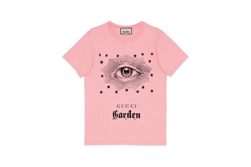 0e9f11d3a18 Gucci Garden Capsule Collection Eye T-shirt Pink