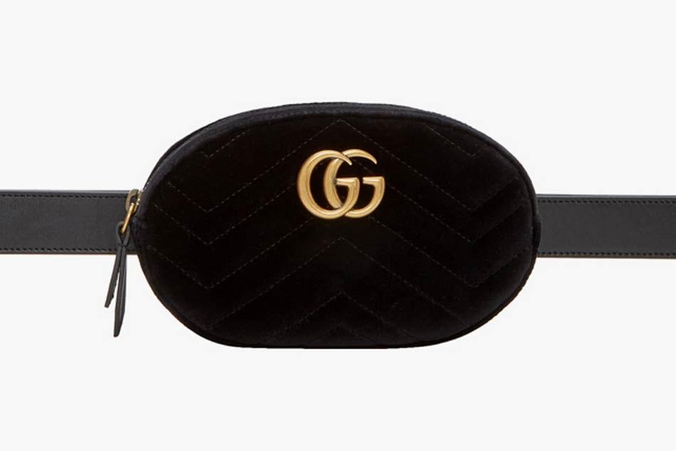 c9fb19a30d5 Gucci s GG Marmont 2.0 Belt Bag in Black