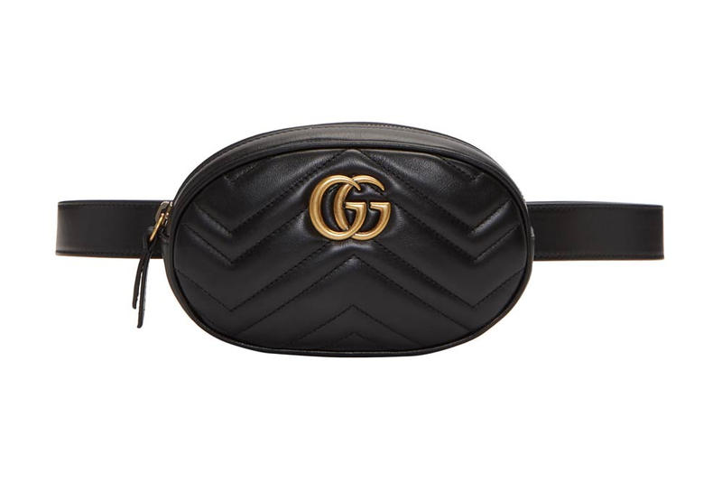 7fa86c17f3208c Gucci's GG Marmont 2.0 Belt Bag in Black | HYPEBAE