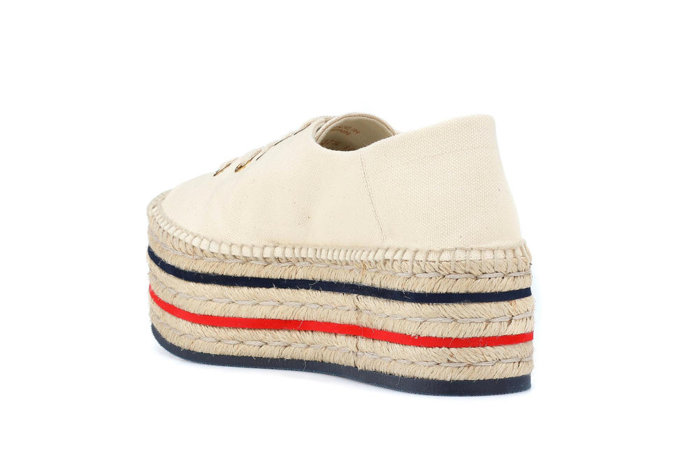 Gucci Platform Logo Summer Espadrilles Red Green Blue Vintage Statement Shoe Sneaker Crep Creme
