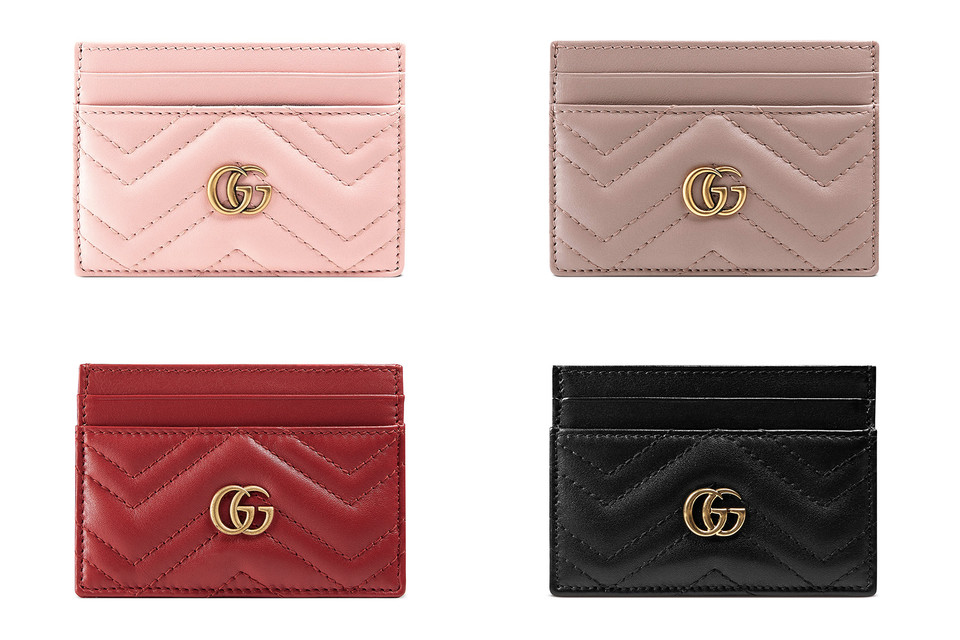premium selection 28e05 7920f Where to buy Gucci's Leather Marmont Card Cases | HYPEBAE