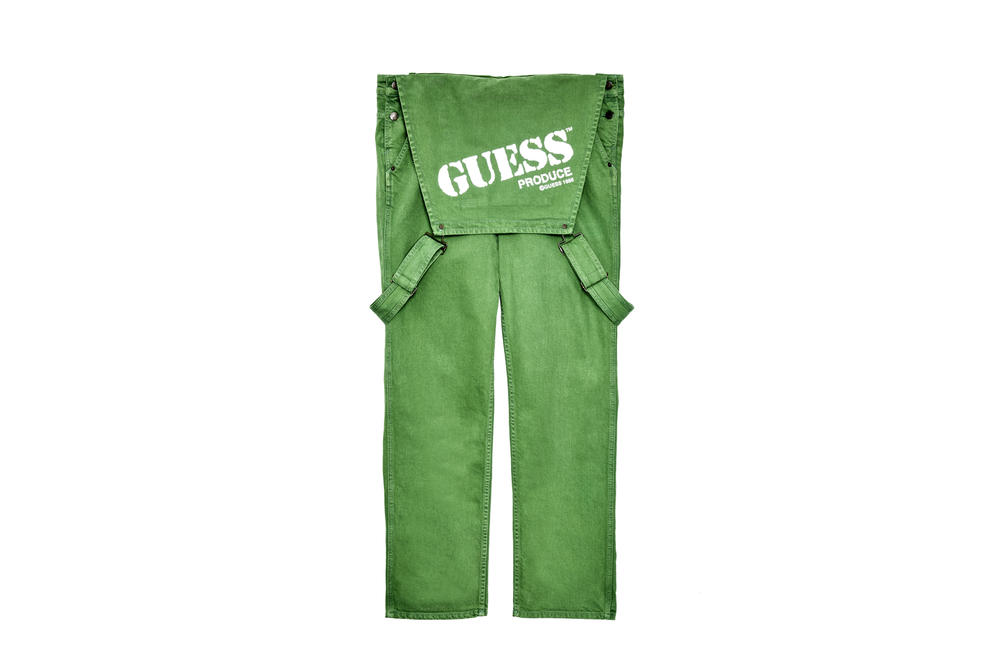 """GUESS Jeans USA """"Farmers Market"""" Collection Sean Wotherspoon Vegan Dye Streetwear Fashion Dungarees Overalls T-Shirt Hoodie"""