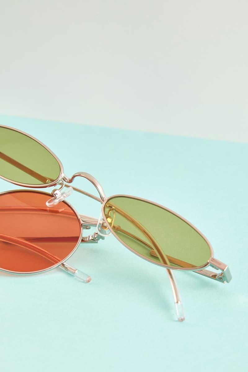 Gentler Monster Oval Sunglasses Green Orange Editorial HBX