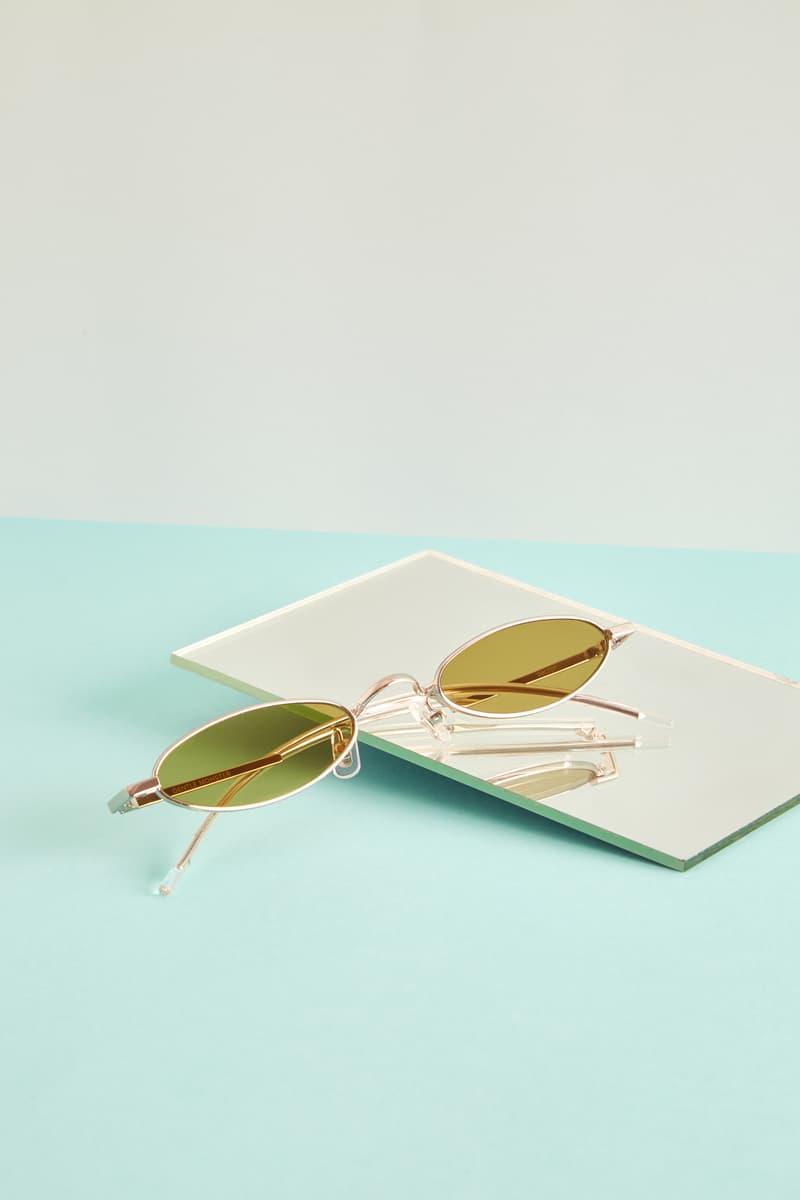 Gentler Monster Oval Sunglasses Yellow Editorial HBX