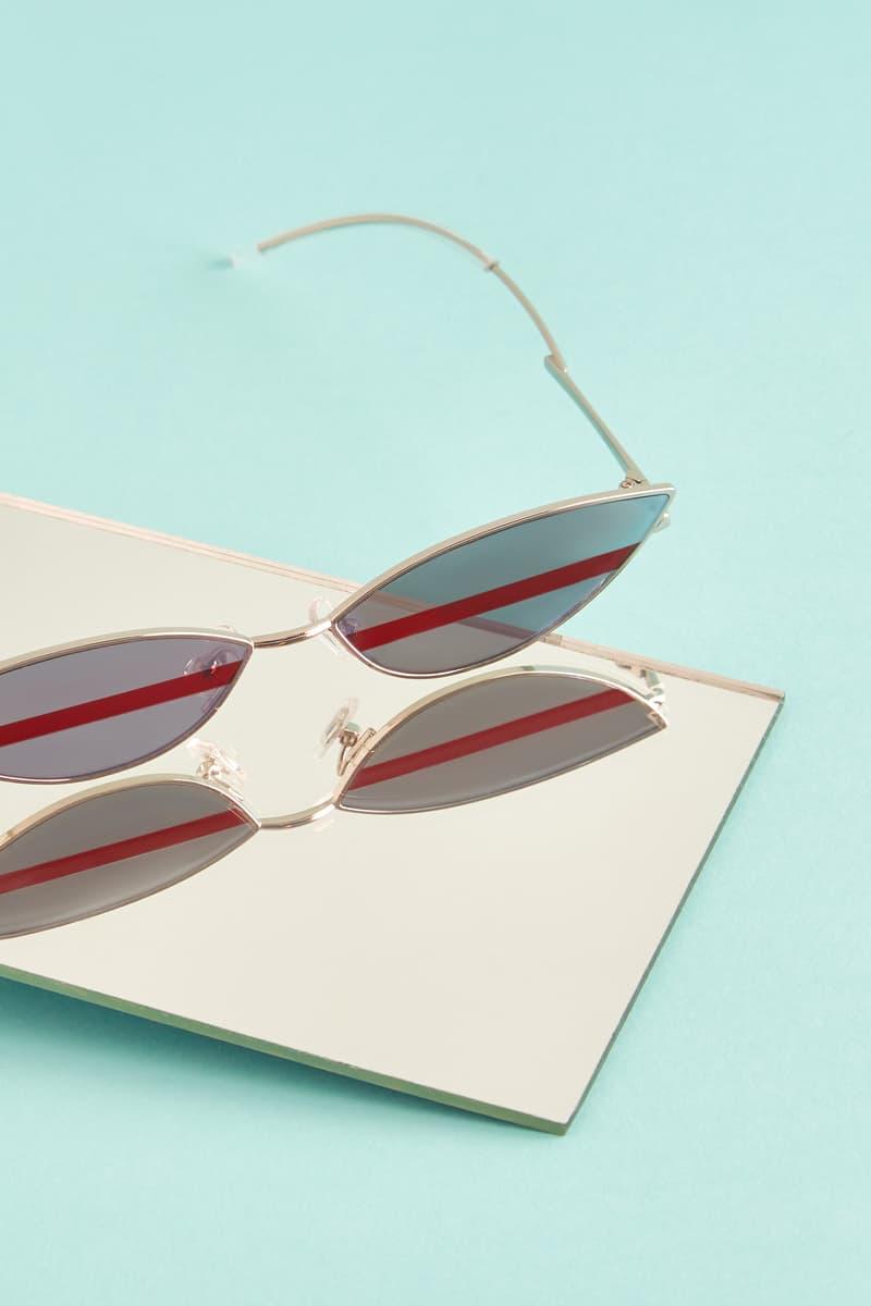 Gentler Monster Oval Sunglasses Black Editorial HBX