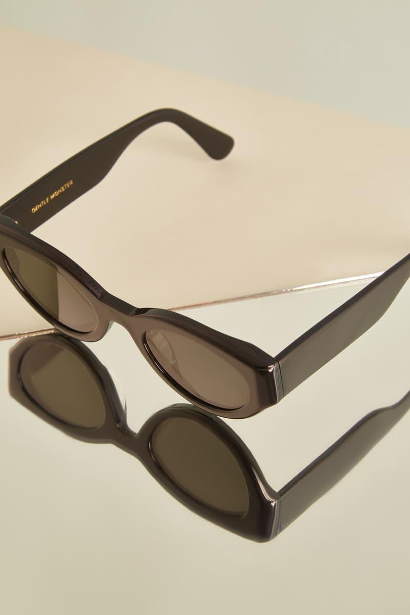 Gentler Monster Square Sunglasses Black Editorial HBX