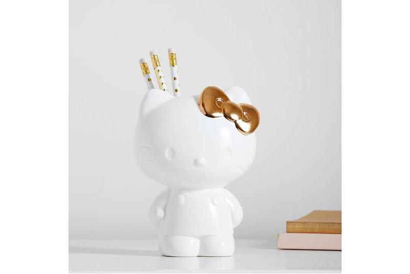 Hello Kitty x PBTeen Pencil/Brush Holder White