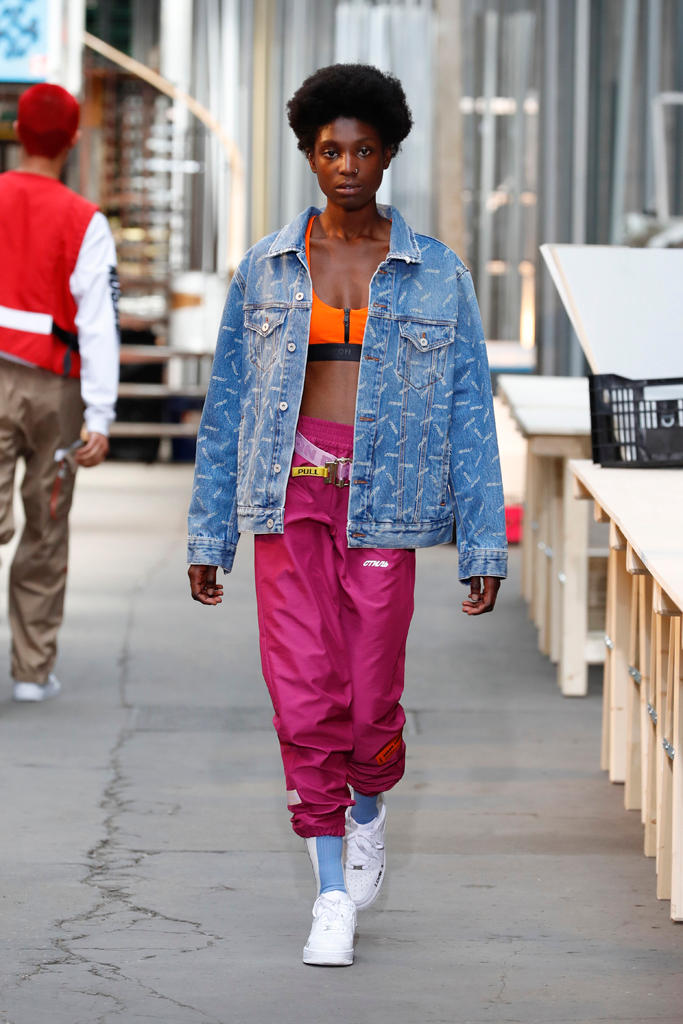 ce3fa0b6 Heron Preston Paris Fashion Week Men's SS19 Runway Spring Summer PFW Show  Streetwear Workwear Utility