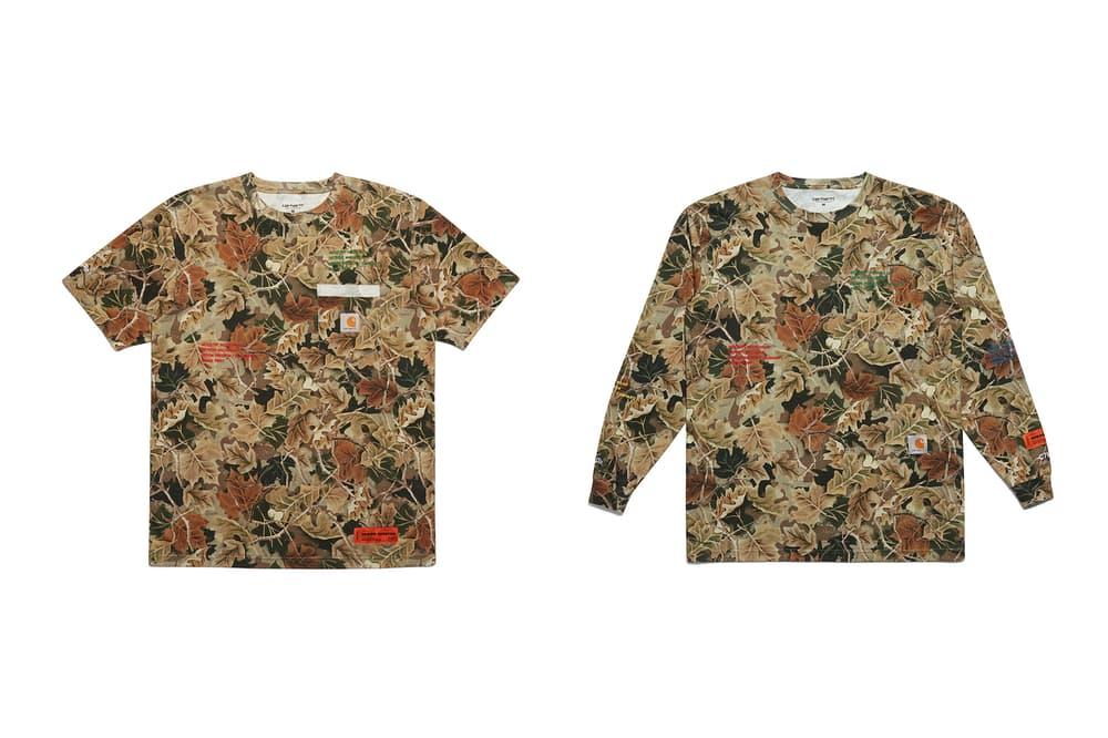Heron Preston Carhartt WIP T Shirt Camo
