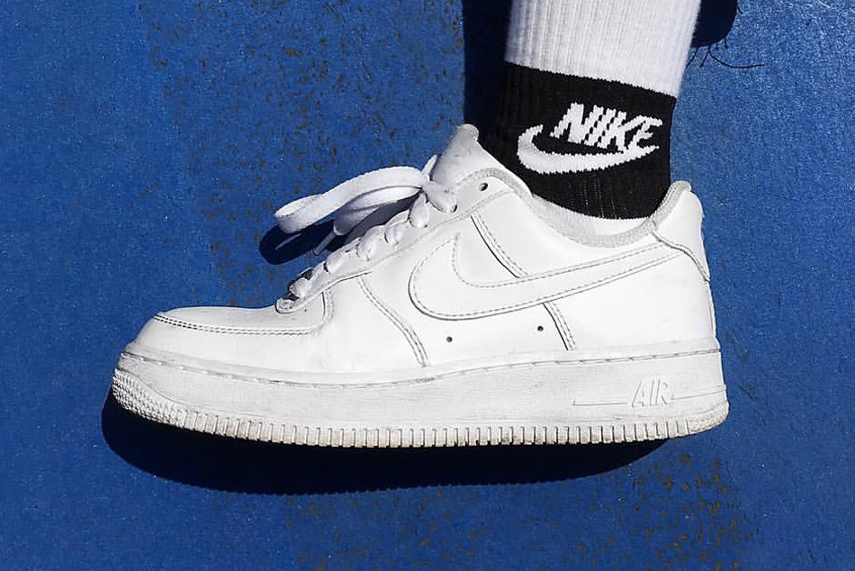 how to clean air force ones