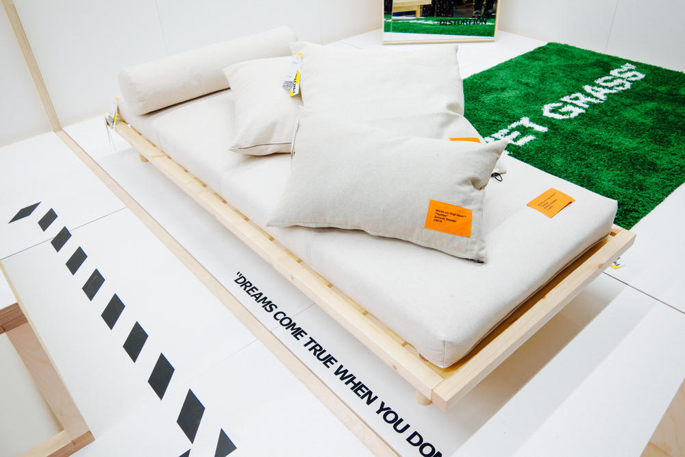 "Closer Look at Virgil Abloh's IKEA Collaboration Furniture ""MARKERAD"""