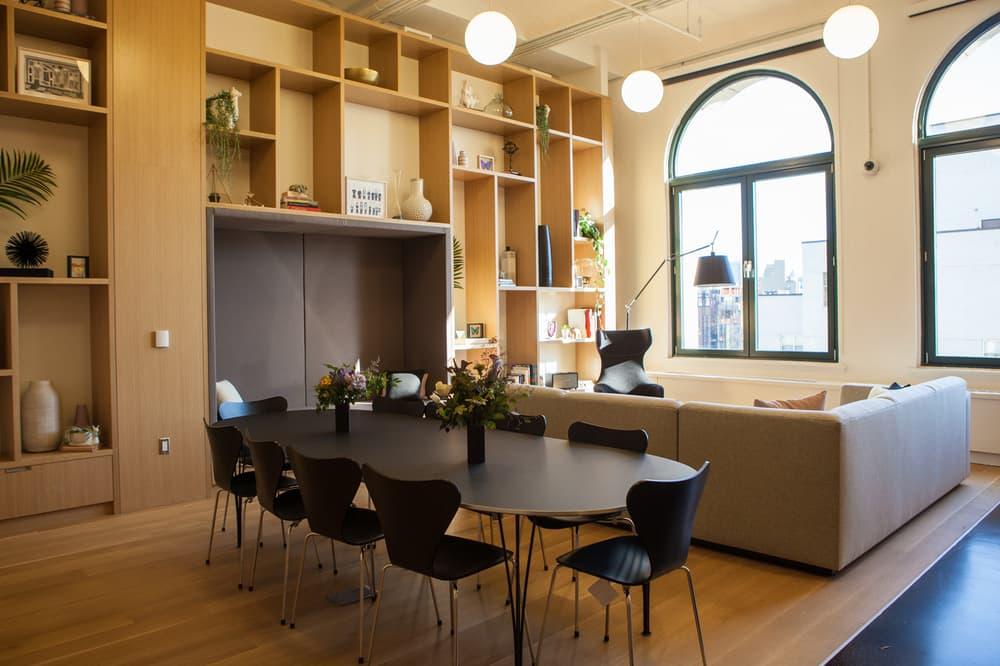Instagram New York City Office First Look Meeting Room