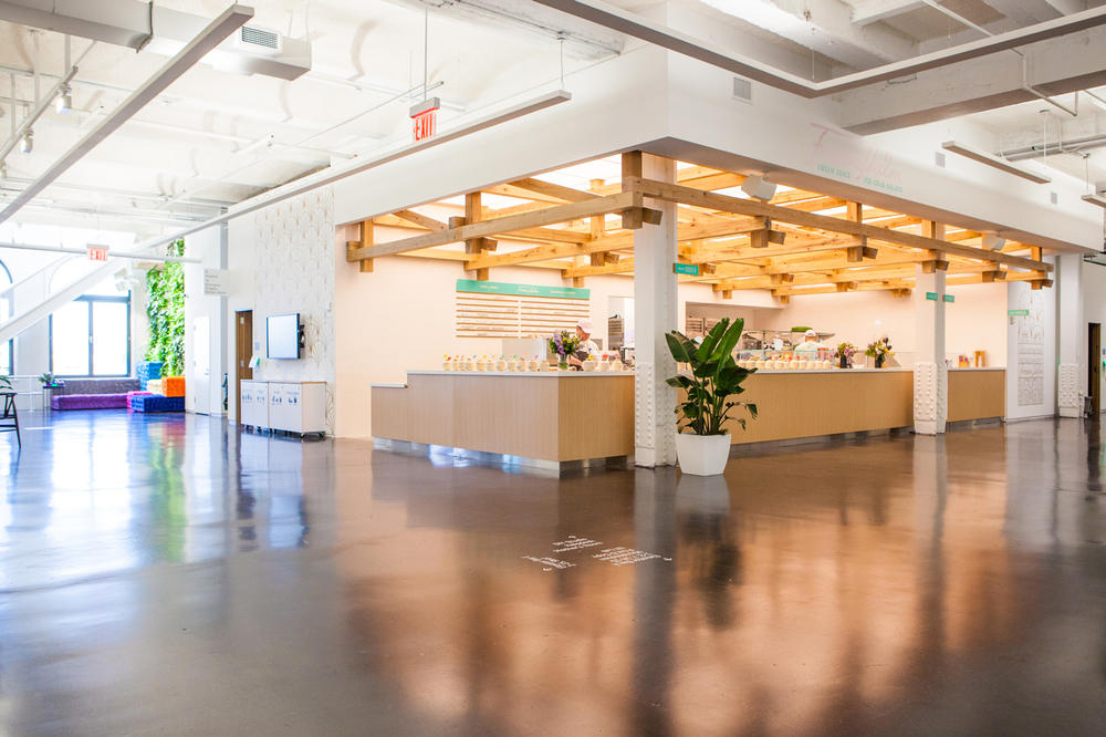 Instagram New York City Office First Look Kitchen Area