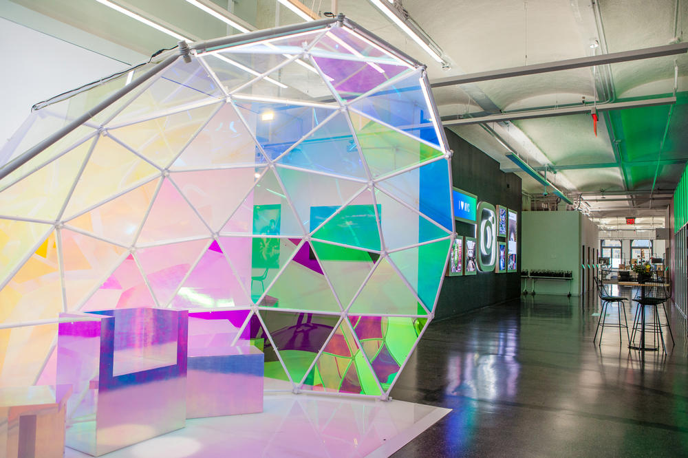 Instagram New York City Office First Look Cube