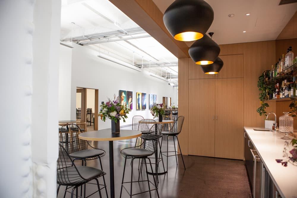Instagram New York City Office First Look Kitchen