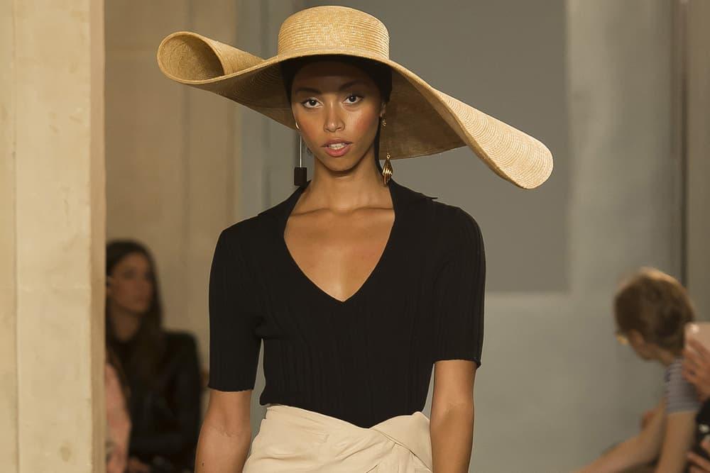 Jacquemus Spring/Summer 2018 Paris Fashion Week Sweater Le chapeau Bomba