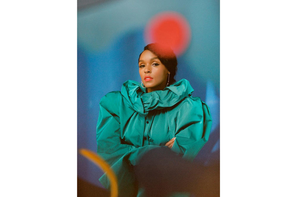 Janelle Monae Allure Magazine July 2018 Issue Marc Jacobs Top Green
