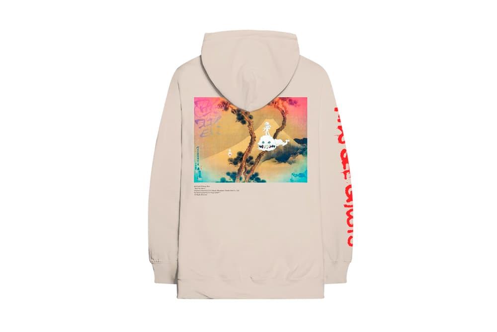 Kanye West Kid Kudi Kids See Ghosts Album Merch Virgil Abloh Takashi Murakami Hoodie T-Shirt Coach Jacket Top