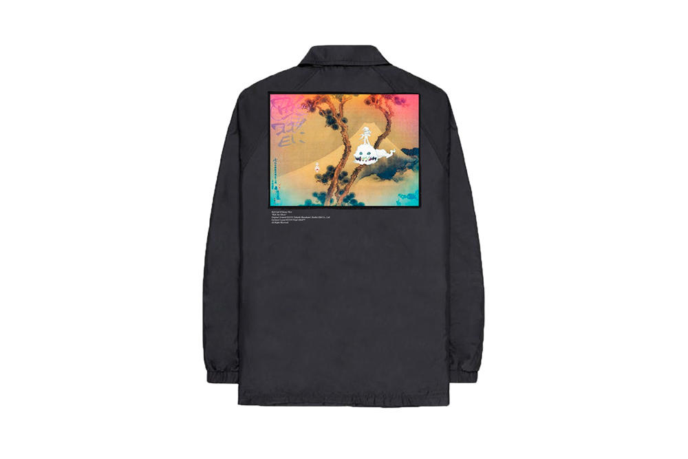 Kanye West Kid Kudi Kids See Ghosts Album Merch Virgil Abloh Takashi Murakami Hoodie T-Shirt Coach Jacket Top
