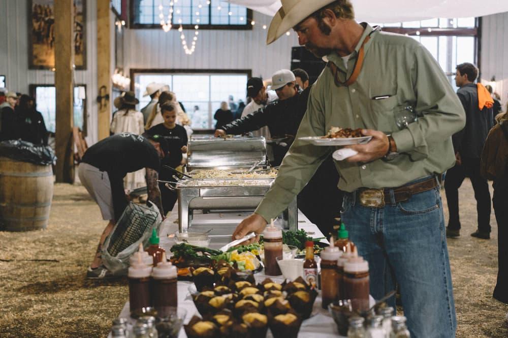 Kanye West ye Album Listening Party Wyoming Food