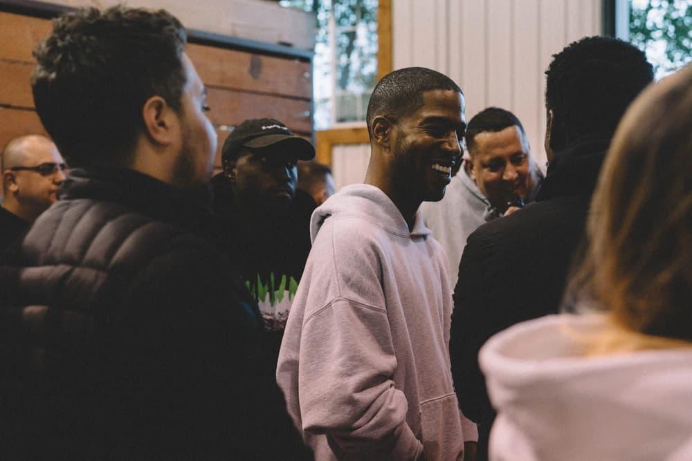 Kanye West ye Album Listening Party Wyoming Kid Cudi