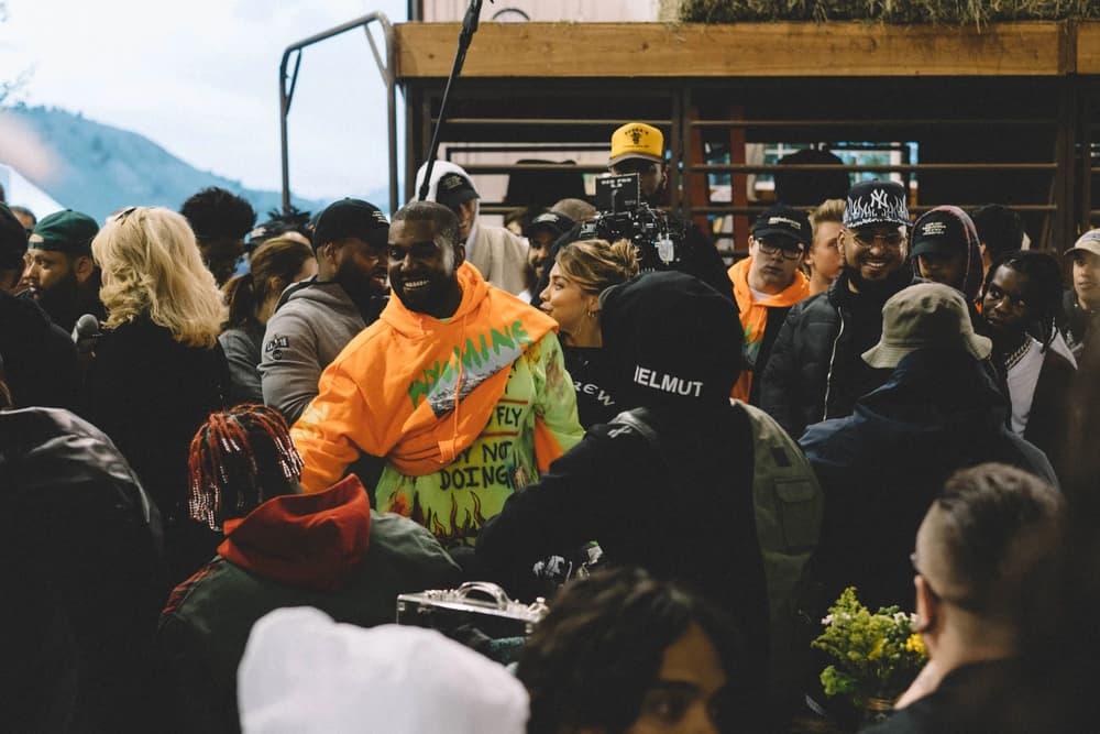 Kanye West ye Album Listening Party Wyoming