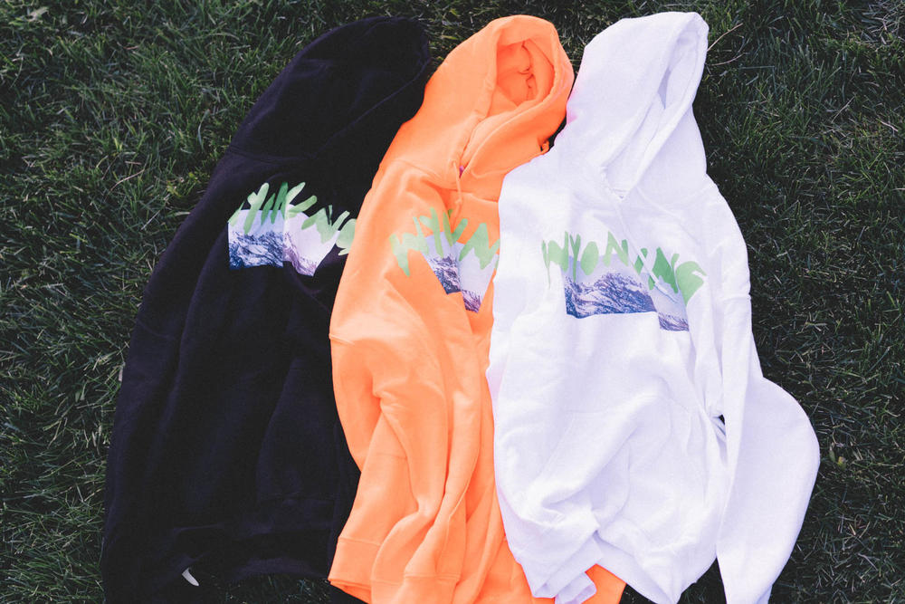 Kanye West ye Album Listening Party Wyoming Merch Hoodies Black Orange White