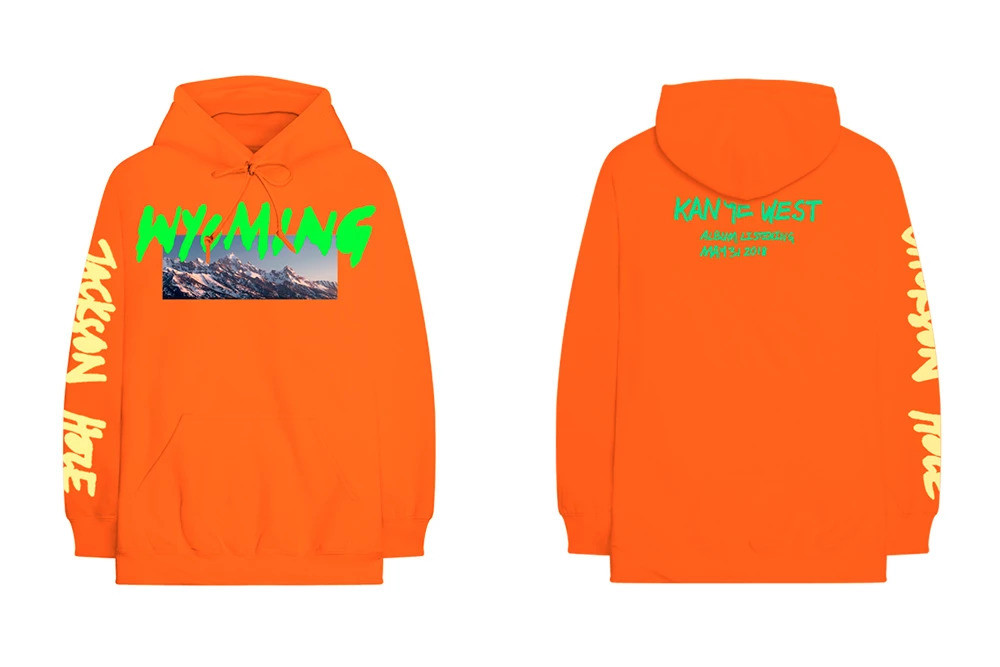 kanye west hoodie new merch Wyoming album listening YE the best quality on