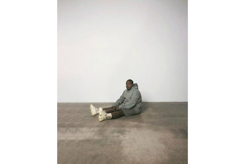 Kanye West Releases SUPERMOON Instagram Ad Campaign Hoodie Shorts YEEZY 500 Super Moon Yellow