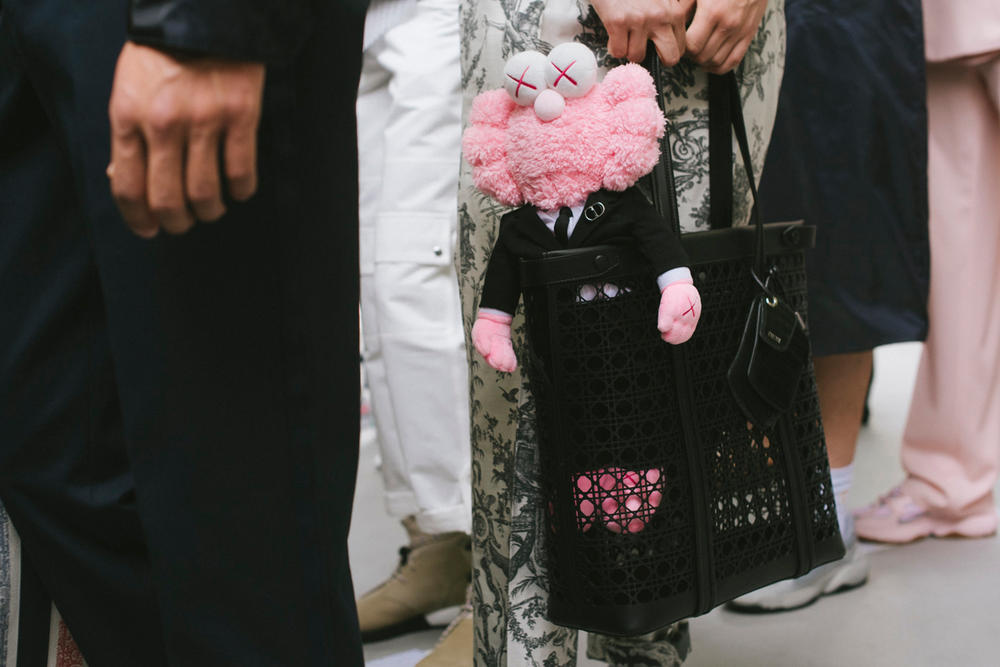 Kim Jones Dior Homme KAWS Yoon Ambush Spring Summer 2019 Show Paris Fashion Week Men's BFF Sneaker Jewelry Backstage Closer Look