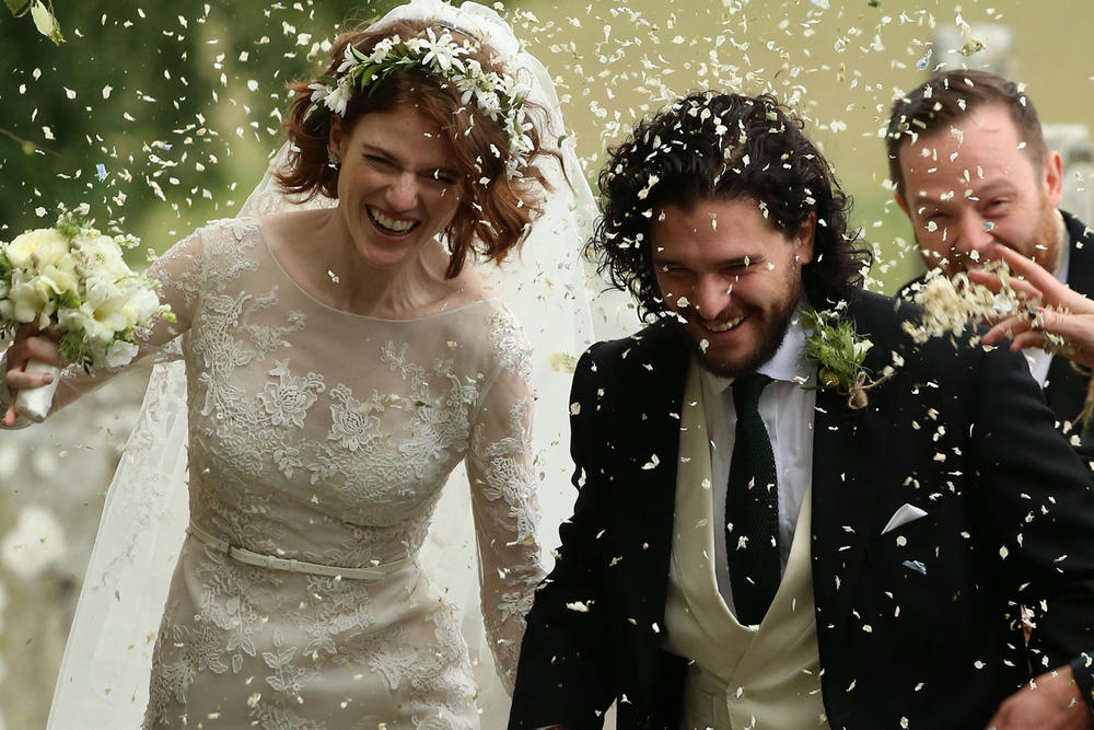 Game of Thrones Kit Harington Rose Leslie Wedding Scotland Married June 23 2018