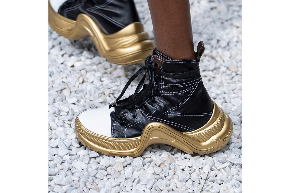 Louis Vuitton Archlight High-Top Leather Monogram Sneakers Cruise 2019